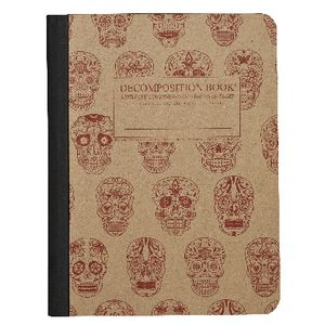 Clairefontaine Decomposition Ruled Notebook Skull 160 Page