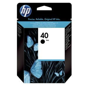 HP 40 Ink Cartridge Black