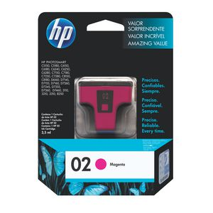 HP 02 Ink Cartridge Magenta
