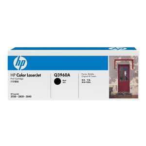 HP 122A LaserJet Toner Cartridge Black Q3960A