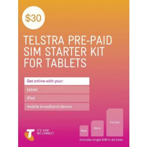 Telstra $30 Data SIM Card