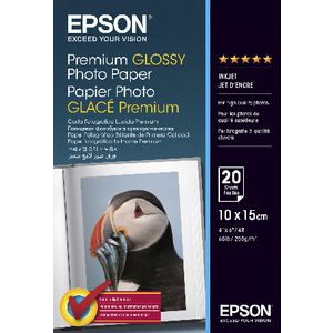 Epson 255gsm A4 Premium Glossy Photo Paper 20 Pack at Officeworks in Campbellfield, VIC | Tuggl