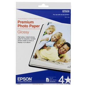 Epson 5 x 7 Premium Glossy Photo Paper 20 Pack