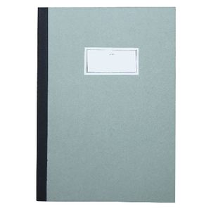 O-Check Stitch Notebook Large 80 Page Light Green
