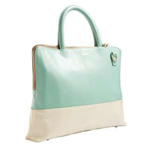 "Nifteen Laptop Tote 13"" Teal"