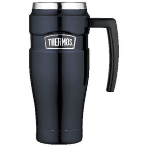 Thermos Vacuum Insulated Travel Mug 470mL Midnight Blue