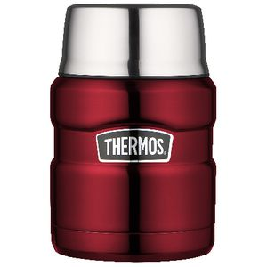 Thermos Vacuum Insulated Food Jar 470mL Red