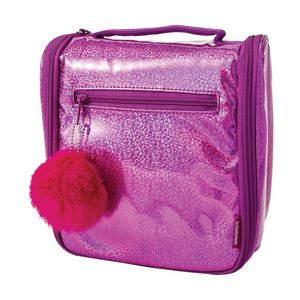 Studymate Top Handle Tote Lunch Bag Glitter Pink