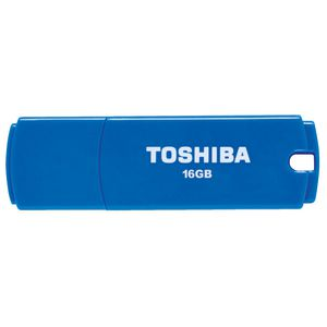 Toshiba 16GB USB 2.0 Flash Drive Blue