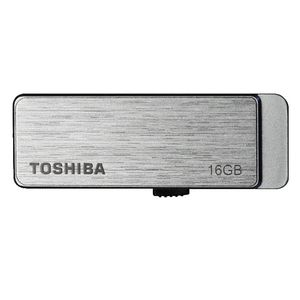 Toshiba 16GB Dash USB 3.0 Flash Drive Silver