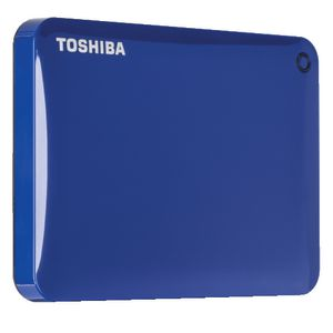Toshiba 1TB Canvio Connect II Portable Hard Drive Blue