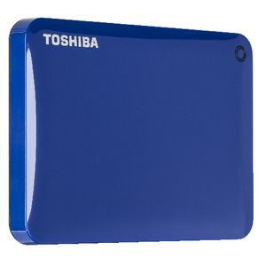 Toshiba 2TB Canvio Connect II Portable Hard Drive Blue