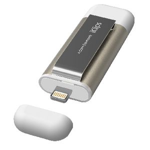 Iklips Apple Lightning Flash Drive 64GB Gold