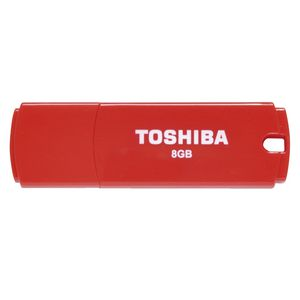 Toshiba 8GB USB 2.0 Flash Drive Red