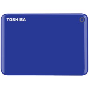 Toshiba 3TB Canvio Connect II Hard Drive Blue