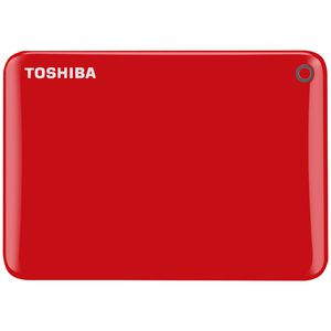 Toshiba 3TB Canvio Connect II Hard Drive Red