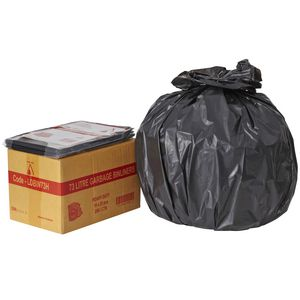 Tailored Packaging Heavy Duty Bin Liners 73L 250 Pack Black