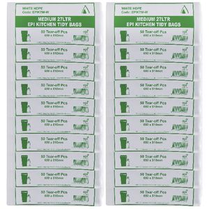 Tailored Packaging Degradable Bin Liner White 27L 1000 Pack