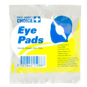 First Aiders Choice Eye Pad 8 x 7cm