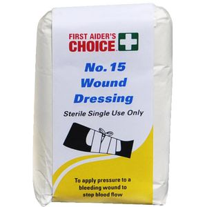 First Aiders Choice Wound Dressing Large