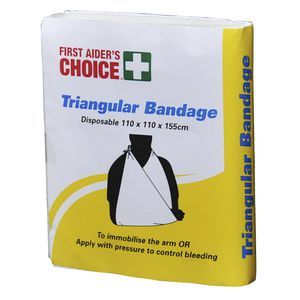 First Aiders Choice Triangular Bandage Cloth