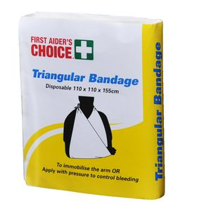 First Aiders Choice Triangular Bandage Disposable