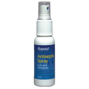 First Aiders Choice Rapaid Antiseptic Spray 50mL