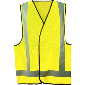 Trafalgar Hi-Vis Safety Vest Yellow L