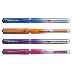 Uni-Ball Insight Rollerball Pens Assorted 4 Pack
