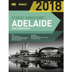 UBD 2018 Adelaide Street Directory 56th Edition