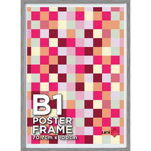 B1 Poster Frame Silver 5 Pack