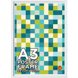A3 Poster Frame White Value 20 Pack at Officeworks in Campbellfield, VIC | Tuggl