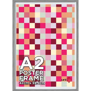 A2 Poster Frame Silver Value 10 Pack