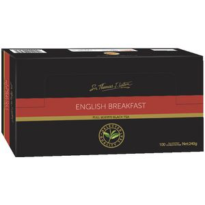 Lipton English Breakfast Black Tea Bags 100 Pack