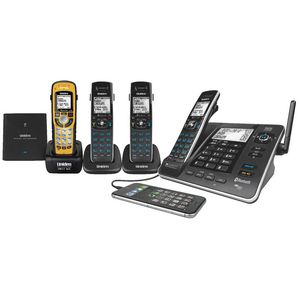 Uniden Cordless Phone Plus 3 Handsets 8355+3WP