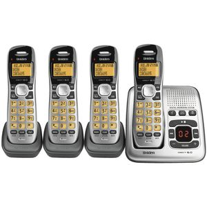 Uniden Cordless Phone with 4 Handsets 1735+3