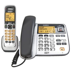 Uniden Corded and Cordless Phone 2145+1