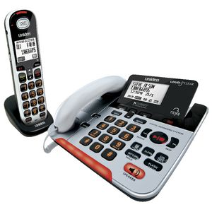 Uniden Cordless and Corded Phone Answering Machine SSE37