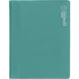 Upward Superior B6 Week to View 2018 Diary Teal