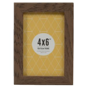 "Promenade Frame 4 x 6"" Brown 10 Pack"