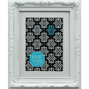 "Emporium Frame 8 x 10"" with 5 x 7"" Opening White"