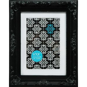 "Emporium Frame 6 x 8"" with 4 x 6"" Opening Black"
