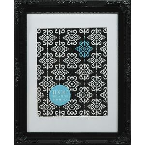 "Emporium Frame 11 x 14"" with 8 x 10"" Opening Black"