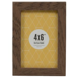"Promenade Frame 4 x 6"" Brown 5 Pack"