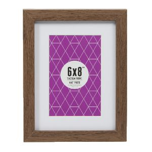 "Promenade Frame 6 x 8"" with 4 x 6"" Opening Brown 5 Pack"