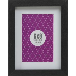 "Promenade Frame 6 x 8""  with 4 x 6"" Opening Black 10 Pack"