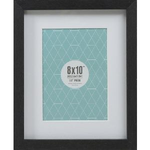 "Promenade Frame 8 x 10"" with 5 x 7"" Opening Black 10 Pack"