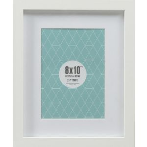 "Promenade Frame 8 x 10"" with 5 x 7"" Opening White 5 Pack"