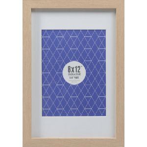 "Promenade Frame 8 x 12"" with 6 x 8"" Opening Oak 5 Pack"