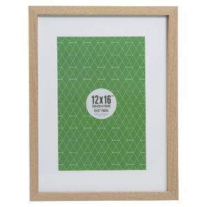 "Promenade Frame 12 x 16"" with 8 x 12"" Opening Oak 5 Pack"